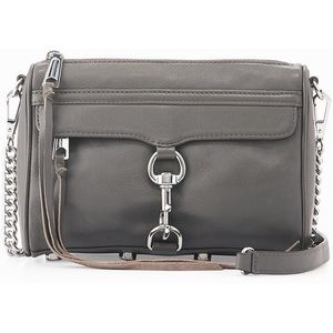 Rebecca Minkoff Mini MAC Charcoal
